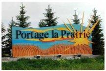 Yvette Cuthbert's Portage la Prairie Entrance Sign