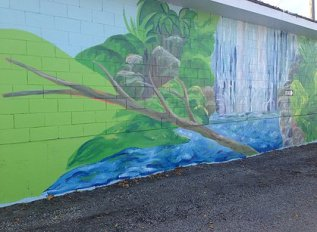 Portage Day Care Mural