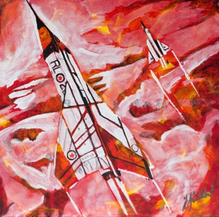 Avro Arrow, Celebrate Canada, Yvette Cuthbert