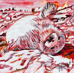 Baby Seal, celebrate Canada, Yvette Cuthbert