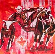 Calgary Stampede, celebrate canada, Yvette Cuthbert, Artist