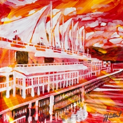 Canada Place, Vancouver, Celebrate Canada, Yvette Cuthbert, Artist