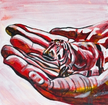 Canadian House Hippo, Celebrate Canada, Yvette Cuthbert, Artist