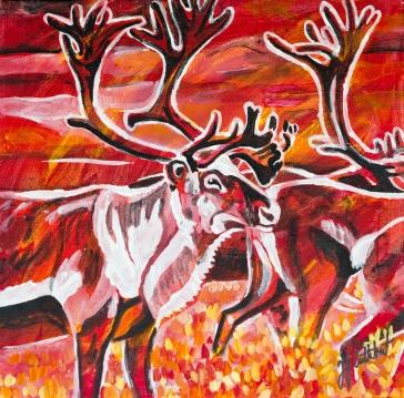 Caribou, Celebrate Canada, Yvette Cuthbert