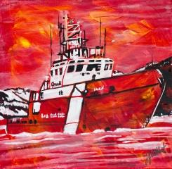 Coast Guard, Celebrate Canada, Yvette Cuthbert
