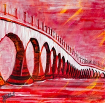 Confederation Bridge, Celebrate Canada, Yvette Cuthbert, Artist