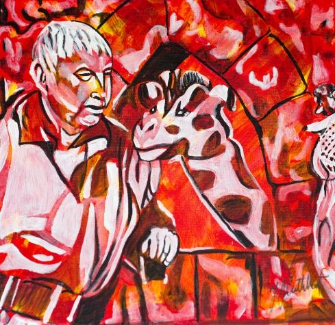 Freindly Giant, Celebrate Canada, Yvette Cuthbert, Artist