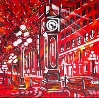 Gastown Steam Clock, Celebrate Canada, Yvette Cuthbert, Artist