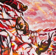 Head Smashed in Buffalo Jump, Celebrate Canada, Yvette Cuthbert, Artist