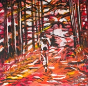Hiking, Celebrate Canada, Yvette Cuthbert, Artist