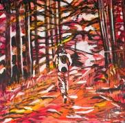 Hiking, Celebrate Canada, Yvette Cuthbert, Artist