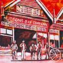 Hudson Bay Company, Celebrate Canada, Yvette Cuthbert, Artist
