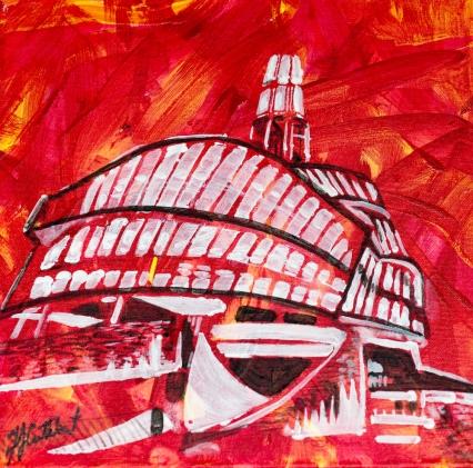 Human Rights Museum, Winnipeg, Celebrate Canada, Yvette Cuthbert Artist