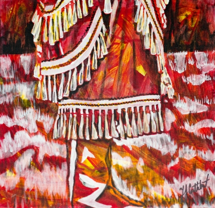 Jingle Dress, Celebrte Canada, Yvette Cuthbert, Artist