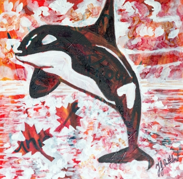 Killer Whale, Celebrate Canada, Yvette Cuthbert