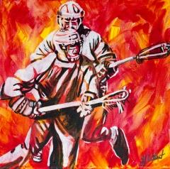 Lacrosse, Celebrate Canada, Yvette Cuthbert, Artist