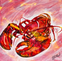 Lobster, Celebrate Canada, Yvette Cuthbert, Artist
