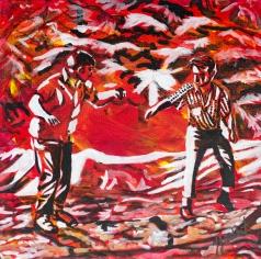 Log Burling, Celebrate Canda, Yvette Cuthbert, Artist
