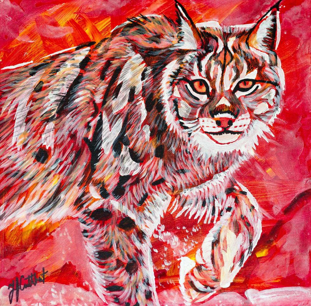 Lynx, Celebrate Canada, Yvette Cuthbert
