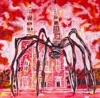 MOMA spider in Ottawa, Celebrate Canada, Yvette Cuthbert