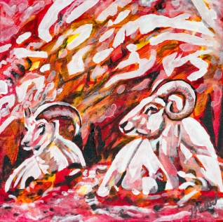 Mountain Sheep, Celebrate Canada, Yvette Cuthbert