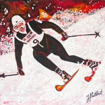 Nancy Greene Olympic Skier, Celebrate Canada, Yvette Cuthbert