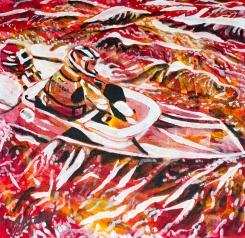 Naniamo Bathtub race, Celebrate Canada, Yvette Cuthbert, Artist