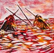 Narwals, Celebrate Canada, Yvette Cuthbert, Artist