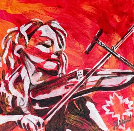 Natalie McMaster, Celebrate Canada, Yvette Cuthbert, Artist