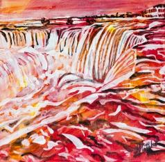 Niagra Falls, Celebrate Canada, Yvette Cuthbert, Artist