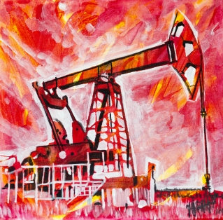 Oil Rigs, Celebrate Canada, Yvette Cuthbert