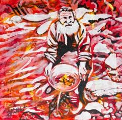 Panning for Gold, Celebrate Canada, Yvette Cuthbert, Artist