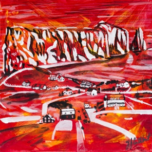 Perce Rock, Celebrate Canada, Yvette Cuthbert, Artist