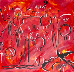 Pictographs, Celebrate canada, Yvette Cuthbert, Artist