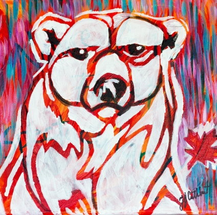 Polar Bear, Celebrate Canada, Yvette Cuthbert