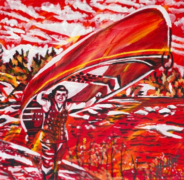 Portaging, Celebrate Canada, Yvette Cuthbert