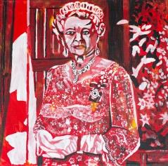 Queen Elizabeth, Celebrate Canada, Yvette Cuthbert, Artist