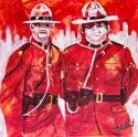 RCMP, Celebrate Canada, Yvette Cuthbert, Artist
