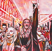 Right to a peacful protest, Celebrate Canada, Yvette Cuthbert
