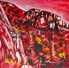Rock Climbing, The Chief Squamish, 2nd Larget Monolith in the world, Celebrate Canada, Yvette Cuthbert, Artist