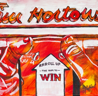 Roll up the Rim, Celebrate Canada, Yvette Cuthbert, Artist