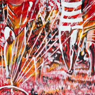 Running in the Sprinkler, Celebrate Canada, Yvette Cuthbert, Artist