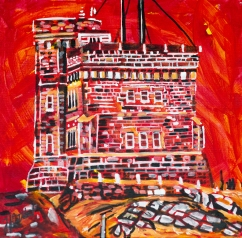 Signal Hill, Newfoundland, celebrate canada, Yvette Cuthbert, Artist