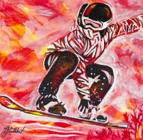 Snow Boarding, Celebrate Canada, Yvette Cuthbert
