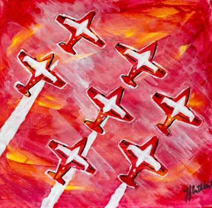 Snowbirds, Celebrate Canada, Yvette Cuthbert