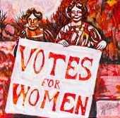 The right to vote, Celebrate Canada, Yvette Cuthbert