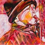 Tongue frozen on metal pole, Celebrate Canada, Yvette Cuthbert, Artist