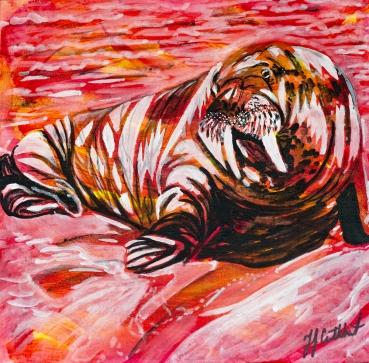 Walrus, Celebrate Canada, Yvette Cuthbert, Artist