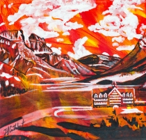 Wateron National Park, Celebrate Canada, Yvette Cuthbert, Artist