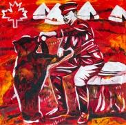 Winnie the Pooh inspiration, Celebrate Canada, Yvette Cuthbert, Artist